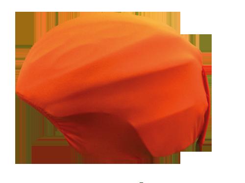 helmhoes Oranje_zij
